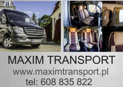 TRANSPORT materiałów budowlanych/okien/drzwi/towarów na paletach BELGIA/HOLANDIA/NIEMCY